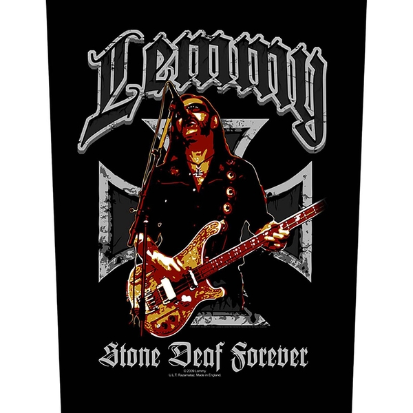 Lemmy - Stone Deaf Back Patch