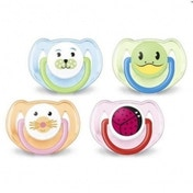Philips AVENT SCF182/34 BPA-Free Animal Soothers (6-18 Months) (Set of 2)