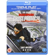 Mission Impossible Ghost Protocol Blu Ray   DVD   Digital Copy