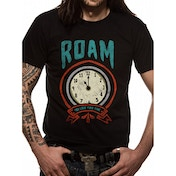 Roam - Time Men's Large T-Shirt - Black