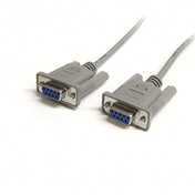 6 ft Straight Through Serial Cable - DB9 F/F