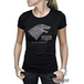 Game Of Thrones - Winter Is Coming Women's Large T-Shirt - Black - Image 2
