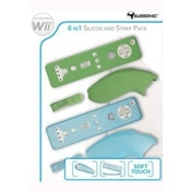 Subsonic 6-in-1 Silicone and Strap Pack Wii