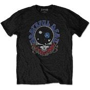 Grateful Dead - Space Your Face & Logo Men's XXX-Large T-Shirt - Black