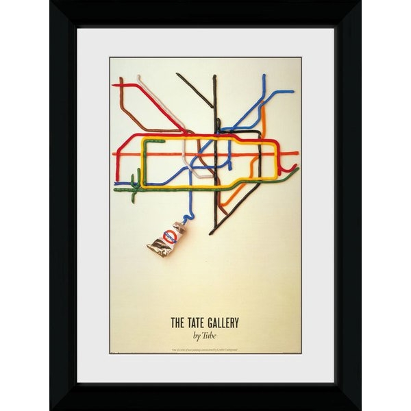 Transport For London Tate 50 x 70 Framed Collector Print
