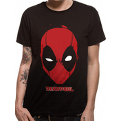 Deadpool - Portrait Men's Small T-Shirt - Black