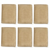 Antibacterial Bamboo Cleaning Sponges - Pack of 6 | M&W