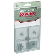 Star Wars X-wing Bases and Pegs Accessory Pack - Clear