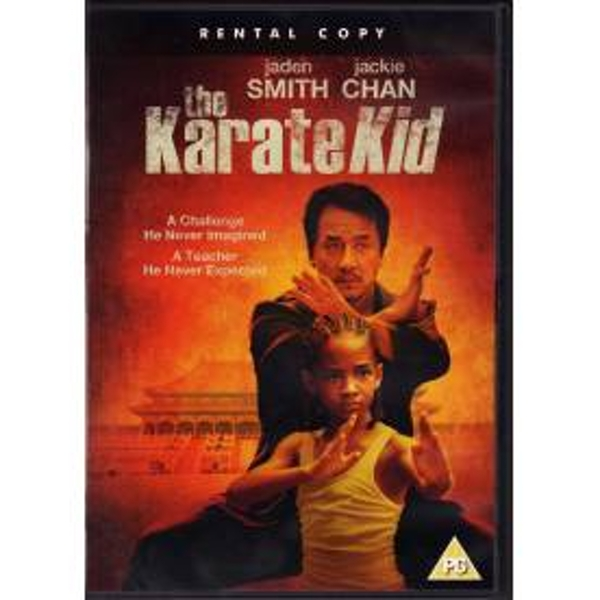 Ex Rental The Karate Kid DVD