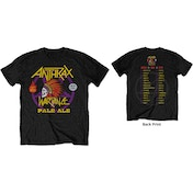 Anthrax - War Dance Paul Ale World Tour 2018 Men's XX-Large T-Shirt - Black