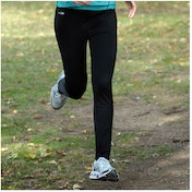 Precision Running Unisex Track Pants Black 22-24inch