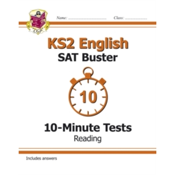 KS2 English SAT Buster 10-Minute Tests: Reading (for the New Curriculum) by CGP Books (Paperback, 2014)