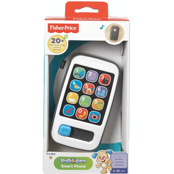Fisher Price - Laugh and Learn Electronic Speaking Kids Role Play Toy Phone