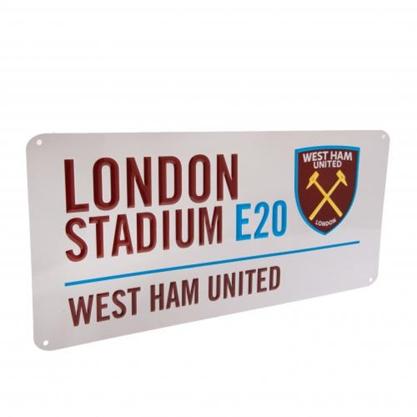 West Ham United FC Street Sign