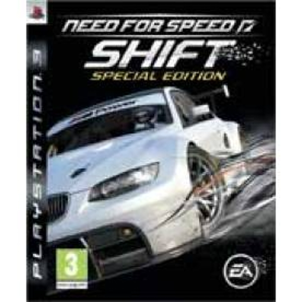 Need For Speed Shift Special Edition Game PS3
