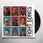 Valve Studio Orchestra - Fight Songs: The Music Of Team Fortress 2 Red & Blue Translucent Vinyl