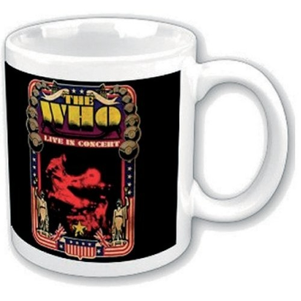 The Who - Live in Concert Boxed Standard Mug