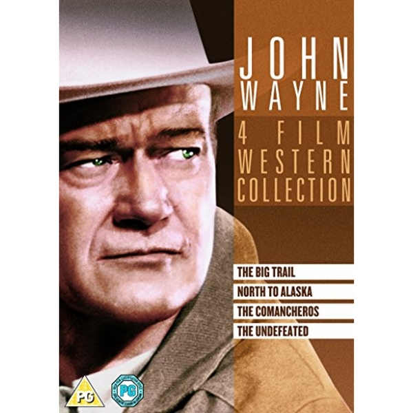 John Wayne Box Set (Undefeated/The Comancheros/The North to Alaska/The Big Trail) DVD