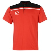 Sondico Precision Polo Adult Small Red/Black