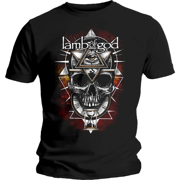 Lamb Of God - All Seeing Red Unisex Small T-Shirt - Black