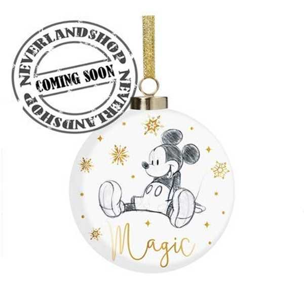 Disney Classic Collectables Luxury Ceramic Bauble - Mickey