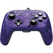 PDP Face off Deluxe Switch Controller and Audio (Camo Purple) for Nintendo Switch