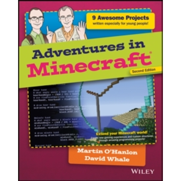 Adventures in Minecraft Paperback