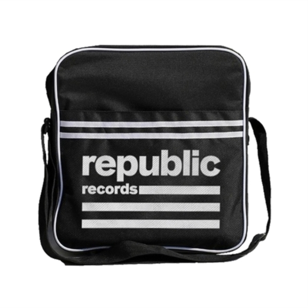 Republic - Logo Flaptop Record Bag
