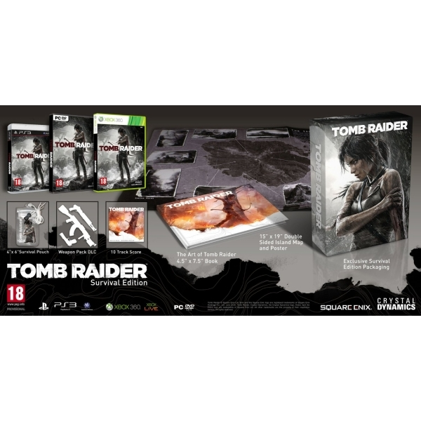 Tomb Raider Survival Edition Game Xbox 360 - Image 1
