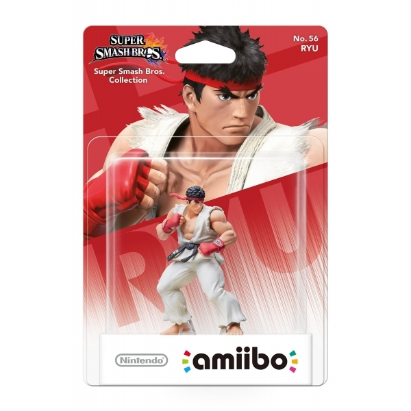 Ryu Amiibo No 56 (Super Smash Bros) for Nintendo Switch & 3DS - Image 1