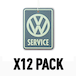VW New Car/VW Service (Pack Of 12) Air Freshener - Image 2