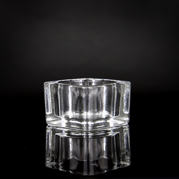Square Glass Tea light Holder | M&W 12 New - Image 9