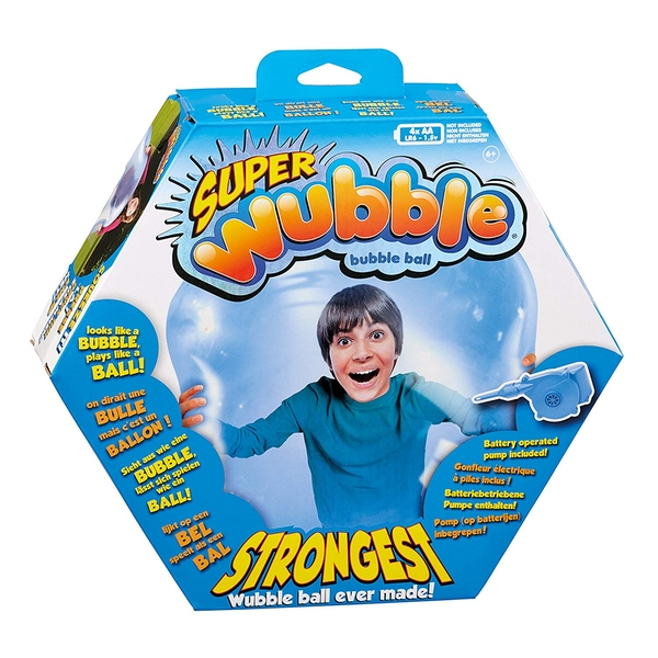 Super Wubble Blue - With Pump