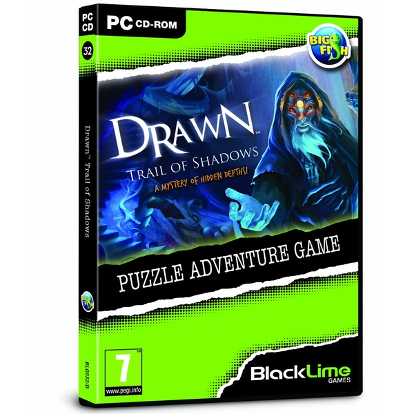 Drawn Trail of Shadows Puzzle Adventure PC Game