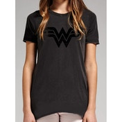 Wonder Woman - Vintage Logo Women's Medium T-Shirt - Black