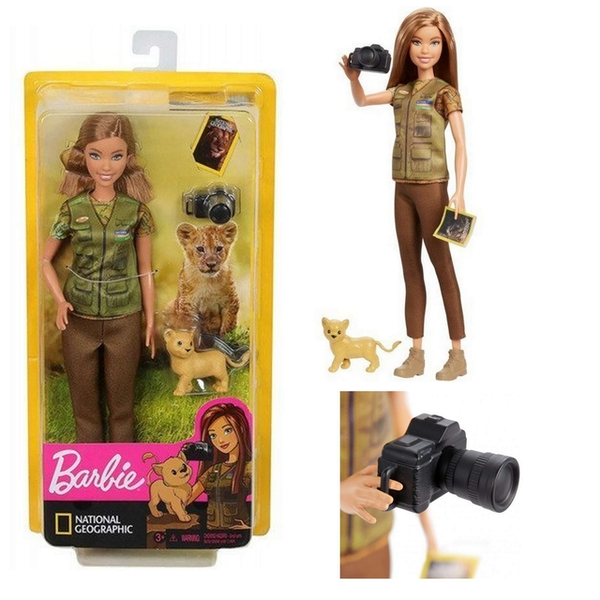 Barbie National Geographic Wildlife Photographer