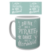 Mermaid In Training - Drink Like a Pirate Mug