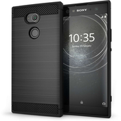 Sony Xperia XA2 Ultra Carbon Fibre Anti Fall TPU Case