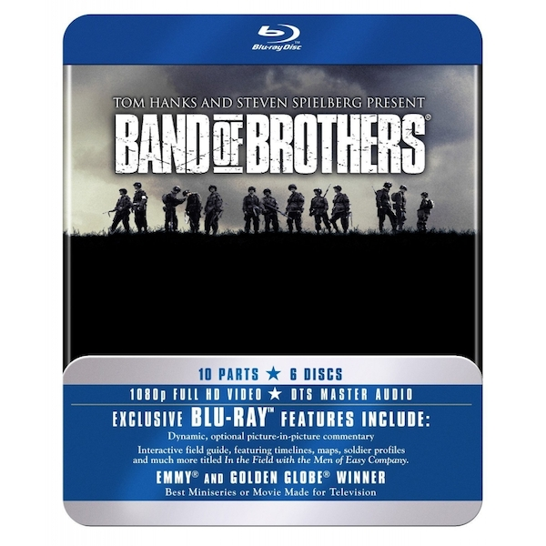 Band Of Brothers HBO Complete Series (Commemorative 6-Disc Gift Set In Tin Box) Blu-Ray - Image 1