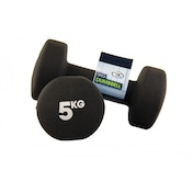 Yoga-Mad Neoprene Dumbbells 5KG