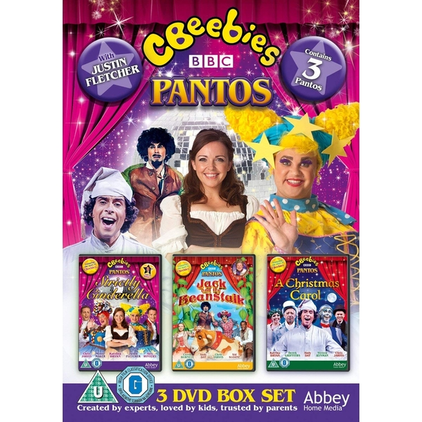 CBeebies Live Panto -  Strictly Cinderella, Jack & The Beanstalk, A Christmas Carol DVD