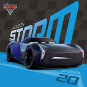 Cars 3 - Jackson Storm Canvas