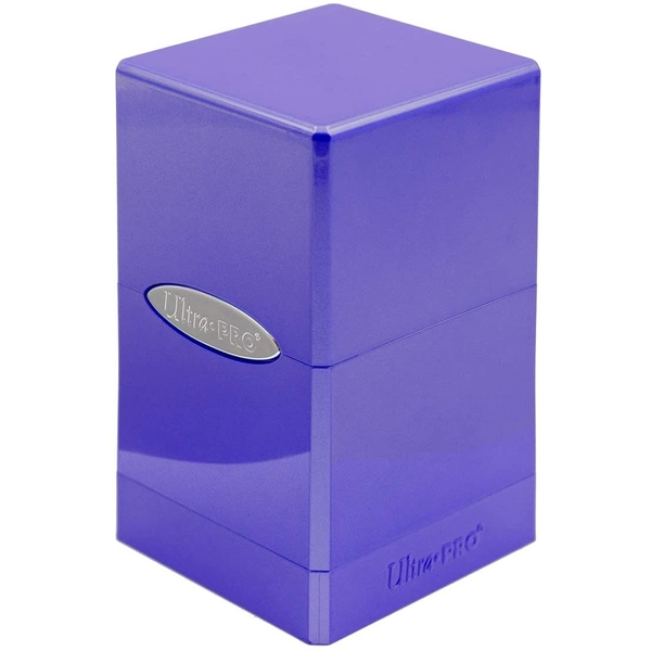 Ultra Pro Hi-gloss Satin Tower Deck Box - Amethyst