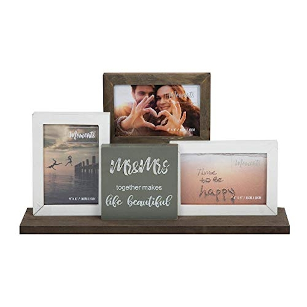 "4"" x 6"" - Mr & Mrs Triple Photo Frame"