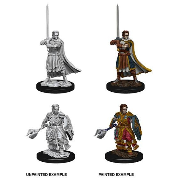 Dungeons & Dragons Nolzur's Marvelous Unpainted Minis: Male Human Cleric