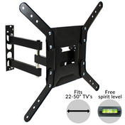Swivel & Tilt TV Wall Bracket | M&W