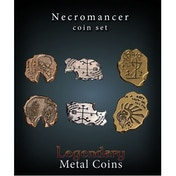 Necromancer Coin Set - Legendary Metal Coins