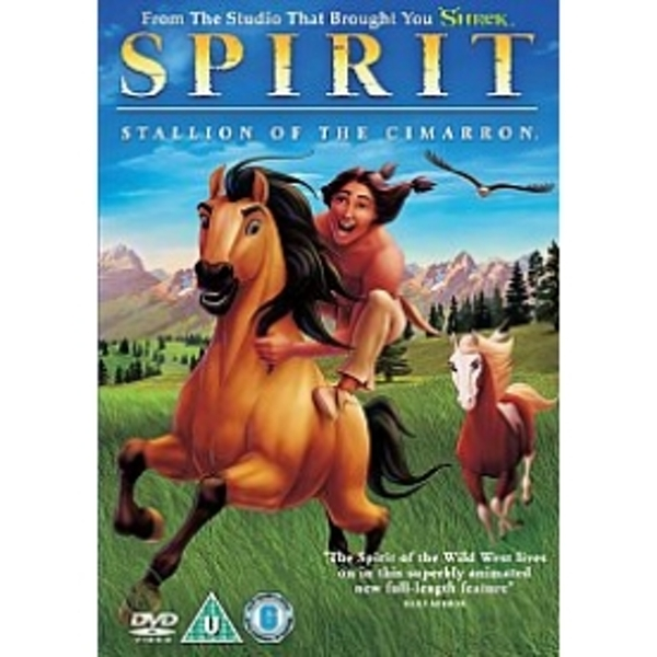 Spirit Stallion Of The Cimarron DVD