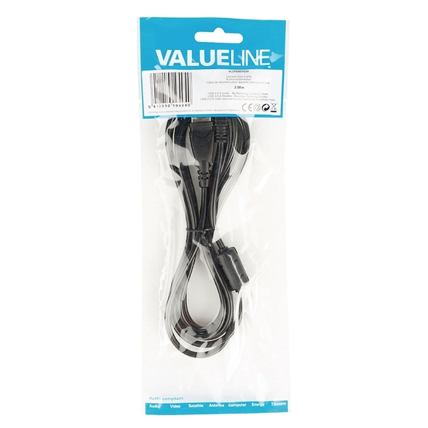 Image of PRAKTICA USB Cable 2.0 A Male - 8pin Male for Z250 WP240 W800 W810