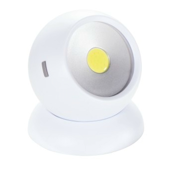 Hama Rotation 360 Table Lamp White LED ? Table Lamps (White, Plastic, LED, Battery, AAA, 7.5 cm)